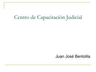 Centro de Capacitación Judicial