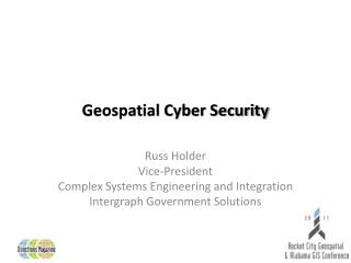 Geospatial Cyber Security