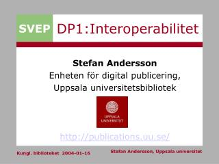DP1:Interoperabilitet