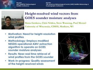 Height-resolved wind vectors from GOES sounder moisture analyses
