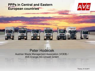 PPPs in Central and Eastern  European countries