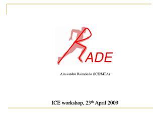 Alessandro Raimondo (ICE/MTA)
