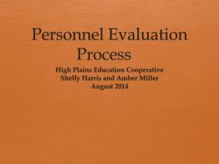Personnel Evaluation Process