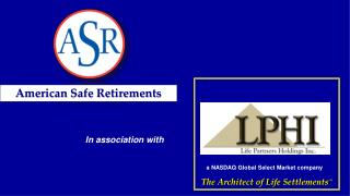 The Architect of Life  Settlements SM