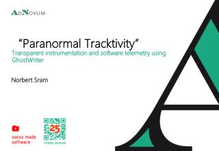 """Paranormal  Tracktivity """