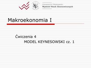 Makroekonomia I