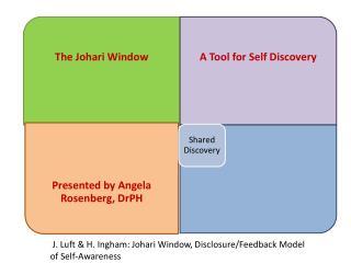 J. Luft & H. Ingham: Johari Window, Disclosure/Feedback Model of Self-Awareness