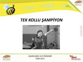 TEK KOLLU ŞAMPİYON