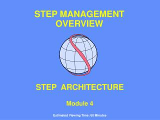 STEP  ARCHITECTURE Module 4 Estimated Viewing Time: 60 Minutes