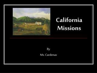 California Missions
