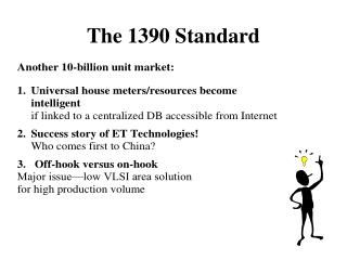 The 1390 Standard