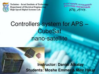 Controllers-system for APS – CubeSat nano-satellite