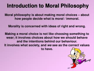 Introduction to Moral Philosophy