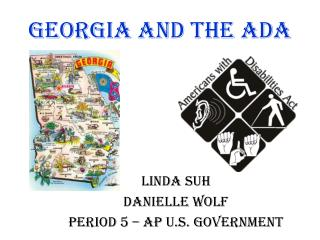 Georgia and the ADA