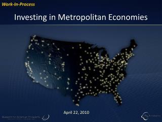 Investing in Metropolitan Economies