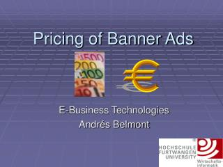 Pricing of Banner Ads