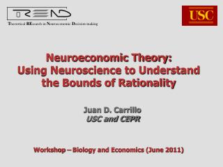 Neuroeconomic Theory:  Using Neuroscience to Understand the Bounds of Rationality