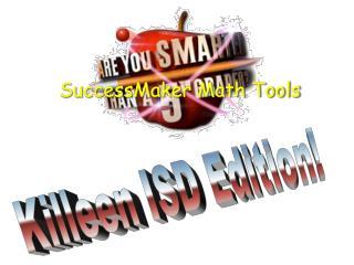 SuccessMaker Math Tools