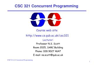 CSC 321 Concurrent Programming