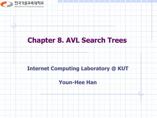 Chapter 8. AVL Search Trees
