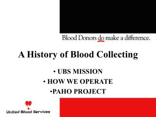 A History of Blood Collecting