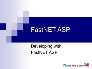 FastNET ASP