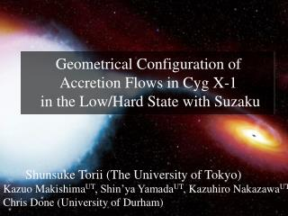 Geometrical Configuration of Accretion Flows in Cyg X-1  in the Low/Hard State with Suzaku