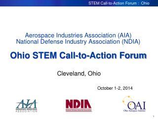 Cleveland, Ohio October 1-2, 2014