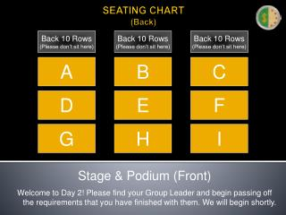 SEATING CHART (Back)