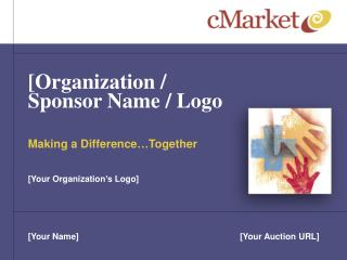 [Organization / Sponsor Name / Logo