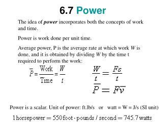 6.7 Power