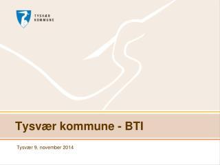 Tysvær kommune - BTI