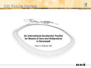 An International Accelerator Facility for Beams of Ions and Antiprotons in Darmstadt
