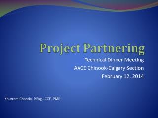 Project Partnering