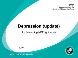 Depression (update)