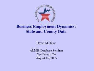 Business Employment Dynamics:   State and County Data