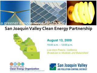 San Joaquin Valley Clean Energy Partnership