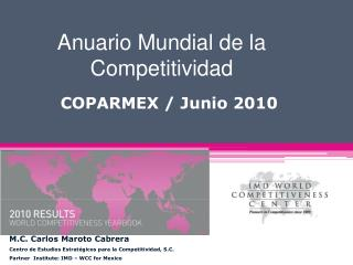 Anuario Mundial de la Competitividad