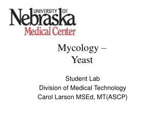 Mycology – Yeast