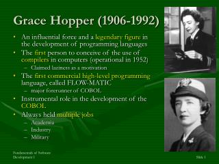 Grace Hopper (1906-1992)