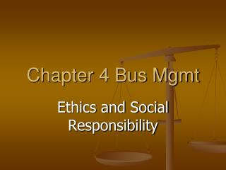 Chapter 4 Bus Mgmt
