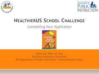 HealthierUS School Challenge