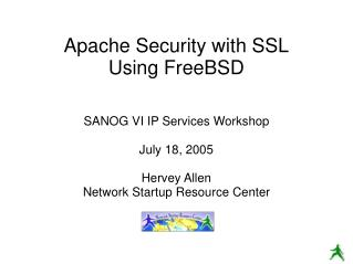 Apache Security with SSL Using FreeBSD
