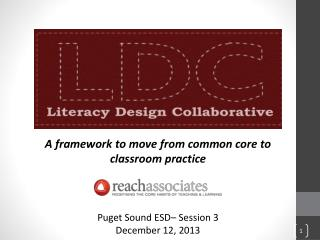A framework to move from common core to classroom practice Puget Sound ESD– Session 3