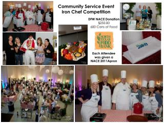 Community  Service  Event Iron Chef Competition