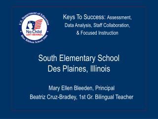 South Elementary School Des Plaines, Illinois
