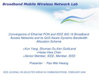 IEEE JOURNAL ON SELECTED AREAS IN COMMUNICATIONS, FEBRUARY 2009