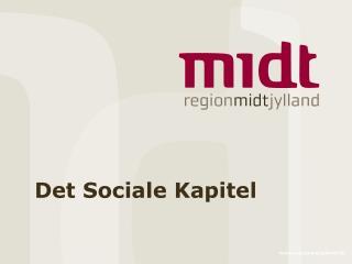 Det Sociale Kapitel