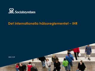 Det internationella hälsoreglementet – IHR