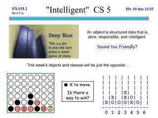 """Intelligent""  CS 5"